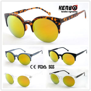 Hot Sale Half Frame Fashion Unisex Sunglasses for Accessory CE, FDA, 100% UV Protection Kp50377 pictures & photos