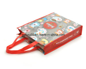 PP Woven or Non Woven Tote Promotion Bag for Shopping pictures & photos