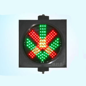 Toll Station Red Cross Green Arrow Traffic LED Signal Light pictures & photos