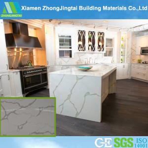 Artificial Marble Pure Black Quartz Stone Slabs pictures & photos