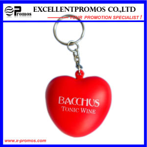 Top Quality Advertising Stress Ball Keychain with Heart Shape (EP-K573022) pictures & photos
