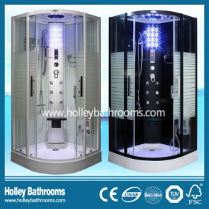 Hot Selling Computer Display Steam Room with Striated Frosted Glass Door (SR117W)