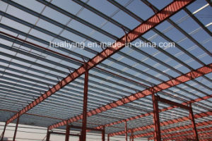 Long Span Steel Frame for Industrial Workshop pictures & photos