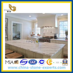 White Marble Countertop for Kitchen/Bathroom (YY-Carrara white Vanity) pictures & photos