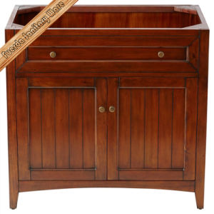 America Style Wooden Bathroom Vanity pictures & photos