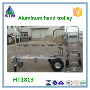 Ht1842 Four Wheel Foldable Hand Trolley pictures & photos