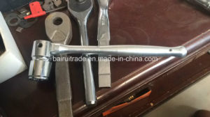 21mm Aluminium Alloy Ratchet Wrench pictures & photos