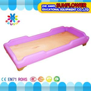 Kids Daycare Plastic Wooden Pink Beds for Preschool pictures & photos