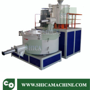 PVC Powder and Granules High Speed Mixer with Cooler for Plastic Extruder pictures & photos