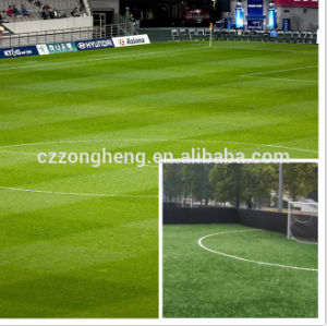 2016 High Performance Synthetic Grass for Outdoor Football Pitch pictures & photos