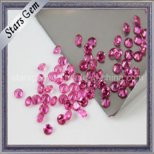 Hot Sale Round Shape Synthetic Corundum 5# Ruby pictures & photos
