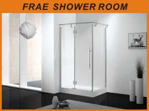 Hinge Shower Enclosure Frameless Shower Room Bathroom Shower Cubicle Sanitary Ware pictures & photos