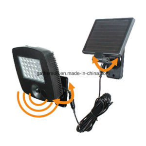 30LED Rotatabale Solar LED Motion Sensor Light for Outdoor Used