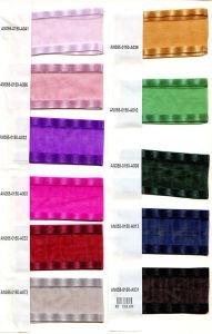 Metallic Golden & Multicolor Metallic Ribbon for Clothing/Garment/Shoes/Bag/Case pictures & photos