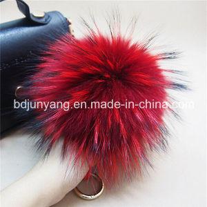 Raccoon Fur Pompom Balls for Bag Pendant pictures & photos