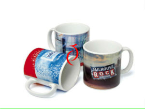 Custom Printed Coffee Mugs, Porcelain Coffee Cup pictures & photos