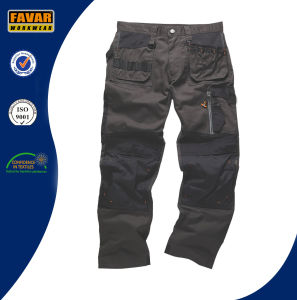 Work Uniform Mens Work Trousers with Knee Pad pictures & photos