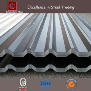 Coated Galvanized Steel Sheet Corrugated Plate for Roofing (CZ-CP19) pictures & photos