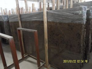 Polished Natural Stone Emperador Dark Marble Slabs for Wall/Flooring