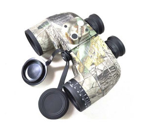 Military Waterproof 10X50 Navy Binoculars with Rangefinder and Compass Reticle pictures & photos