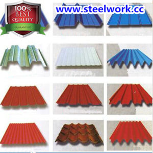 High Quality PPGI/PPGL/Gi/Gl Color Coated Steel Sheet (CC-10) pictures & photos