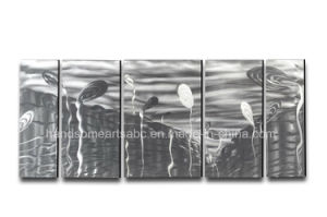Silver Color 100% Handmade Aluminum Painting for Home Decoration pictures & photos