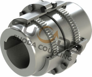 Good Quality High Transmission Efficiency Suoda Gab Type Gear Coupling pictures & photos