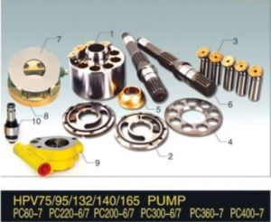 Komatsu Hydraulic Piston Pump Parts Hpv75/95/132/140/165 pictures & photos