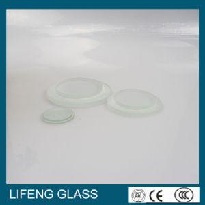 Transparent Glass, Tempered Glass, Round Step Glass
