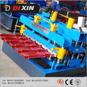 Fully Automatic Glazed Tile Roof Steel Sheet Roll Forming Machine pictures & photos