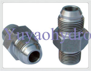 JIS Fittings with Bsp Thread 60 Deg Flare Cone pictures & photos