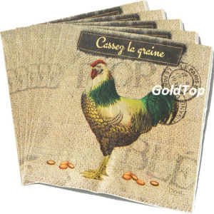 33*33cm Paper Dinner Napkins Cheap Price pictures & photos