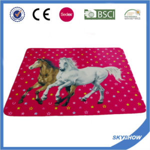 Printed Fleece Blanket (SSB0184) pictures & photos
