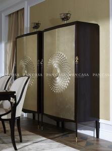 High Quality Classical Wooden Furniture Living Room Cabinet (MS-A6038b)