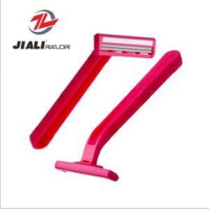 Cheap Disposable Razor Twin Blade Shaving Razor (SL-3011L) pictures & photos