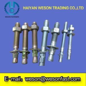 Galvanized/HDG Expansion Wedge Anchor Bolt/Sleeve Anchor Bolts Hot Sale