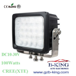 6.3inch 10-30V 20*5W 100watts CREE LED Work Light pictures & photos