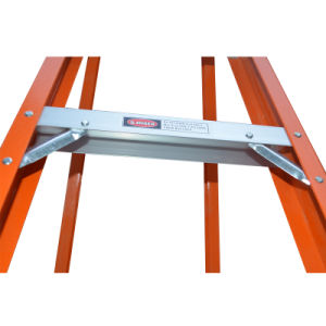 High Quality Double Side Fiberglass Folding Step Ladder pictures & photos