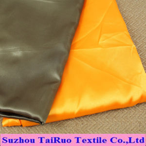 Microfiber Polyester Satin for Women′s Clothes pictures & photos