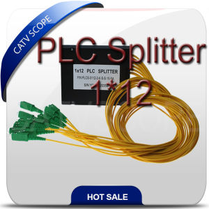 Fiber Optical PLC Splitte Coupler 1X12 Way pictures & photos