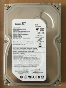 "Seagate 3.5"" 250GB SATA Hard Disk Refurbished Hard Disk Drive"