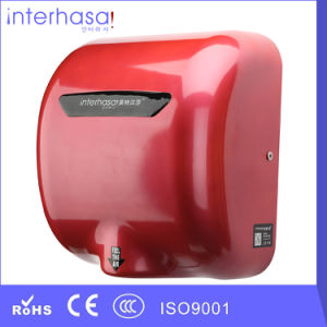High Speed Cold/ Hot Air ABS Colorful Factory Automatic Ce RoHS Sensor Hand Dryer pictures & photos