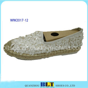 New Design Paillette Upper Brand Casual Shoes pictures & photos