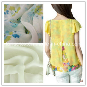 No MOQ Printed Polyester Chiffon for Ladies′ Fashion Fabric pictures & photos