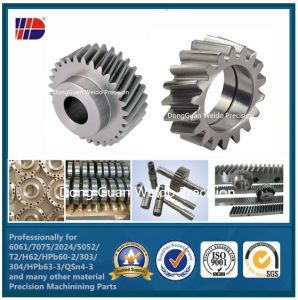 CNC Steel Machined Transmission Helical Gear Wdkc302 pictures & photos