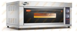 1deck 2 Tray Glass Door Electric Oven with CE pictures & photos