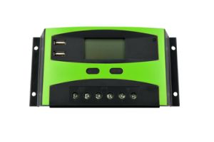 30A 24V, PWM, LCD, Intelligent Solar Controller pictures & photos