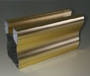 Spray Golden Aluminium for Furniture Door Frame pictures & photos