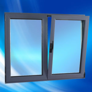As2047 Australia Standard Double Glass Aluminum Profile Tilt and Turn Window