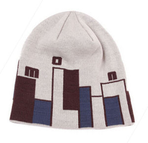 Winter Fashion Pattern Knit Beanie Hat pictures & photos